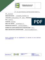 Formulario Cuenta Educativa