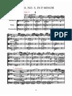 Haydn Quartetto Op20 n5 Allegro Moderato
