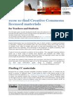 Finding CC Material Edu