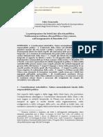 Franceschi%Benedetto XVI e La Partecipazione Dei Fedeli Laici Alla Vita Pubblica