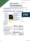 Excel Pivot Table Tutorial ..