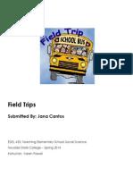 EDEL453 Spring2014 JanaCANTOS FieldTrips