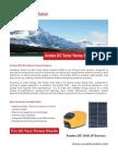 Andes DC Solar Home System (P sSeries)_en