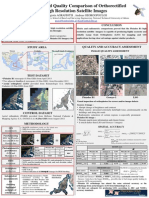 Accuracy and Quality Comparison of Orthorectified High Resolution Satellite Images