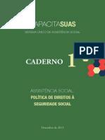CapacitaSUAS - Assistência Social, política de direitos à seguridade social