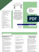 career curriculum
