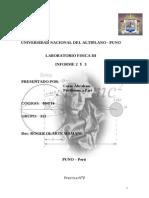 Informe Fisica- Ley de Ohm