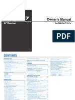 Yamaha RX V667 Manual