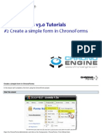 2 Create a Simple Form in ChronoForms