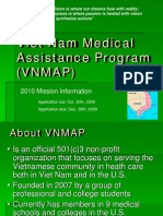 VNMAP Student Recruitment Slides for 2010 NN Ed.2, Oct.10 2009