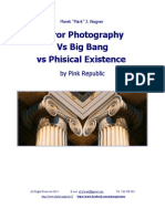 Mirror Photography  vs Big Bang vs Phisical Existence by Pink Republic