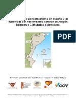 Informe a Instituciones Europeas de Entidades Cívicas Aragón Baleares Comunidad Valenciana