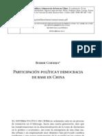 Participacion Ciudadana en China