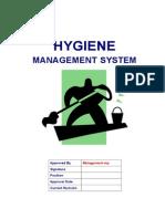 Hygiene Management System Procedures