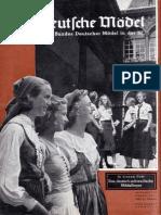 Das Deutsche Mädel - 1938 - August