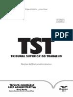Noções de Direito Administrativo -TST