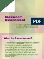 CTE Classroom Assessment Workshop.ppt