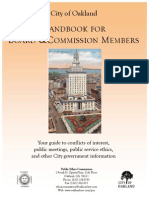 Complete Handbook for Board and Commission Members - Final