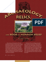 Archaeology, Relics and Book of Mormon Belief