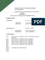 08 Induccion Lactea, Programas y Costos
