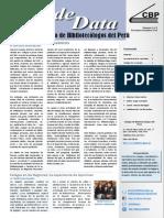 Sala de Data, Volumen 3, No. 3, Noviembre - Diciembre 2013