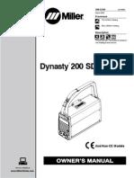MIller Dynasty 200 DX User Manual