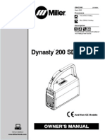 MIller Dynasty 200 DX User Manual