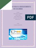EDUCACIÓN PARA EL ENVEJECIMIENTO EN COLOMBIA