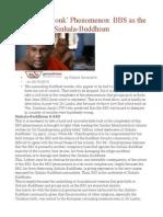 The 'Mad Monk' Phenomenon  BBS as the underside of Sinhala-Buddhism