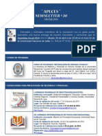 APECES -Newsletter No 20