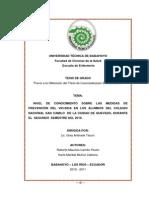 Tesis Nivel de Conocimiento Del Vih-sida Finalizada (2) Modificada