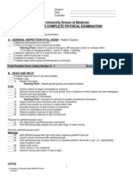 BU PE Checklist 2011-12