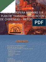 Plan de Trabajo Excavacion Chimeneas Metodo Alimak
