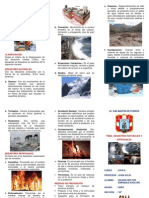 Desastres Naturales y Artificiales