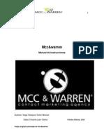 MCC - Manual Tecnico