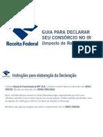 Consorcio Realiza - Guia para Declarar seu Consórcio no IR - Imposto de Renda