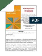Transgénicos. Inconciencia de la ciencia
