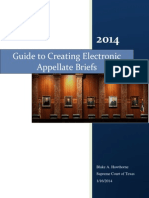 5 BASIC Guide to Creating Electronic Appellate Briefs