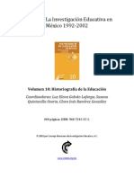 Vol  10 Historiografía de la Educación