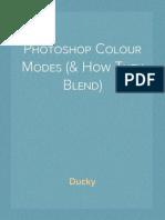 Photoshop Colour Modes