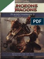 D&D 4th Edition - Player's Handbook 3