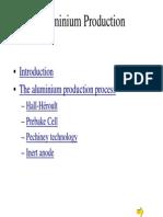 Aluminium Production