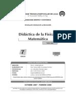 Didactica de La Fisica y La Matematica G27702