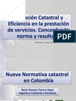 Normativa Catastral Colombia