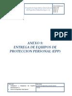 Anexo 9 Entrega Epp