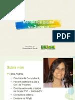 Identidade Gov - Fisl 2013