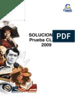 Solucionario CL- 111 2009