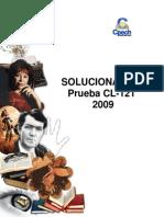 Solucionario CL- 121 2009