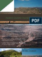 Cusco Ciudad Vulnerable