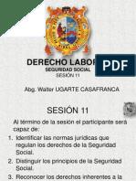 Derecho Laboral.2012.Sesion 11.Seguridad Social